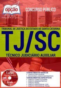 Apostila TJ SC 2017 Técnico Judiciário Auxiliar PDF Download
