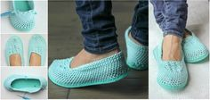 Today we are going to talk about making slippers using a flip flop soles, just like the ones that are presented on the photos. I think that the form and th