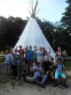 Das Tipi-Zelt, vom Freundeskreis Nationalpark Schwarzwald e.V. gespendet, ist einer unserer Beiträge zur Förderung der Jugendarbeit im #Nationalpark #Schwarzwald #blackforest