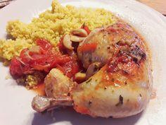 cuisses de poulet dans l'ultra pro tupperware