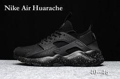 size 40 6caa5 25551 Original Air Max Nike - Nike Air Huarache Run Ultra Men Shoes All Black
