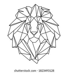 Animal Outline, Geometric Drawing, String Art, Upcycle, Embroidery, Patterns, Abstract, Drawings, Painting