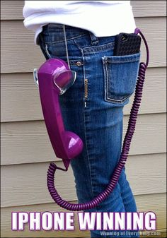 Dont you hate it when your face presses keys on your cell phone. Get yourself a handy dandy handset in your favorite color. It eliminates stress.