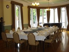 The Fenton Room at Devonshire Hall has a wonderful bay window to cast plenty of natural daylight on your meeting for up to 26 delegates. For more details visit http://meetinleeds.co.uk/devonshirehall.php