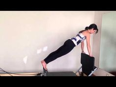 Pilates Reformer Jumpboard - YouTube