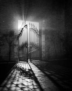 cool gates photography spooky