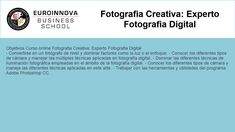 curso de fotografia creativa - https://www.euroinnova.edu.es/Fotografia-Creativa