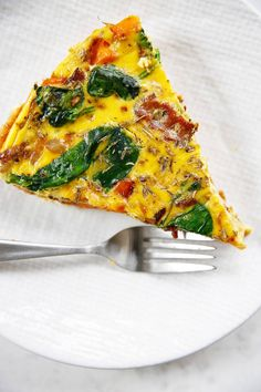 This Bacon and Sweet Potato Frittata is just what a lazy Sunday morning breakfast calls for. It's quick and simple and freezer-friendly. Whole 30 Breakfast, Make Ahead Breakfast, Morning Breakfast, Sweet Potato Frittata, Brunch Recipes, Baby Food Recipes, Breakfast Recipes, Lazy Sunday