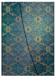 Bleu; Part of Paperblanks' French Ornate collection of writing journals