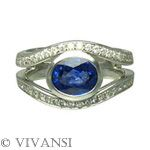 white gold, diamonds, saphhire: http://www.worldluxuryjewellers.net/jeweller_Vivansi.php
