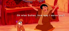 Oh wise Sultan, how may I serve you?