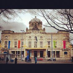 "The Royal Dramatic Theatre (Swedish: Kungliga Dramatiska Teatern or Dramaten) is Sweden's national stage for ""spoken drama"", founded in 1788 #stockholm #sweden #swedenar"