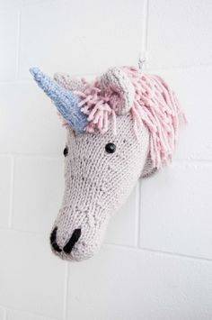 Faux Unicorn Knitting Kit Make Your Own от sincerelylouise