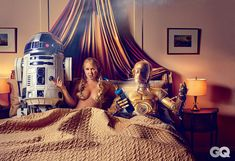 Photos: Amy Schumer's Sexy Star Wars-Themed GQ Shoot | GQ