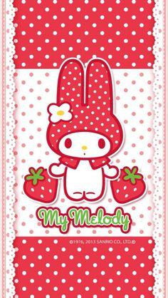 Sanrio My Melody Strawberries
