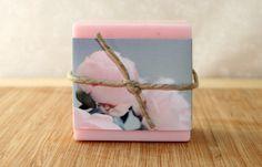 Rose Scented Goats Milk Soap  Bridal by speckdresselbathbody, $6.50