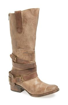 Free shipping and returns on Freebird by Steven 'Dakota' Boot (Women) at Nordstrom.com. Rugged hand-distressing amplifies the authentic appeal of a Western-inspired knee-high boot wrapped with contrasting buckle straps.