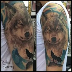 Lobo / Wolf / Por : Phillipe Barros Preto e cinza  Black and gray  portrait  retrato tattoo tatuagem realismo realism art arte artistic  artista draw desenho painting pintura illustration color colorida estúdio rio de janeiro norway artist world  Instagram: https://www.instagram.com/phillipe_barros/ Facebook: https://www.facebook.com/phillipe.barros.79 fanpage: https://www.facebook.com/phillipebarrosarte/?fref=ts pinterest: https://es.pinterest.com/phillipebarros7/barros/