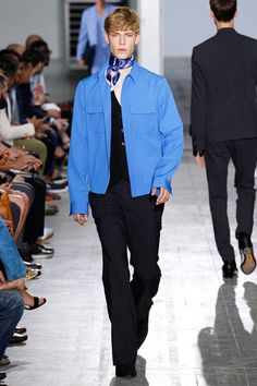 Costume National Spring 2015 Menswear Collection Slideshow on Style.com