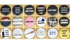 Stranger Things Inspired 38 mm Badges & Magnets