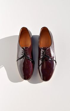 Dieppa Restrepo Cali Oxford in Burgundy patent