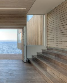 Cantilevered Two Hulls House Overlooking the Sea in Nova Scotia, Canada - http://freshome.com/2014/01/27/cantilevered-two-hulls-house-overlooking-ocean-nova-scotia-canada/