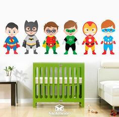 Stickers For Kids Kit Heroes Standing