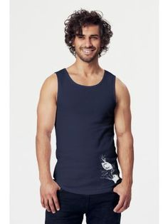 Bio-Herren-Tank-Top OwlEye Tank Man, Tank Tops, Men, Fashion, Vegan Fashion, Halter Tops, Moda, La Mode, Fasion