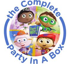 Super Why! Party in a Box from BirthdayExpress.com