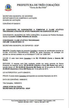 Folha do Sul - Blog do Paulão no ar desde 15/4/2012: TRÊS CORAÇÕES: DINHEIRO NA MÃO É VENDAVAL
