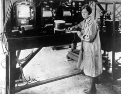 Pearl Young at Langley's Flight Instrumentation Facility March 1929