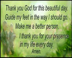 Thank You God