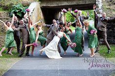 Bridal party photo #wedding
