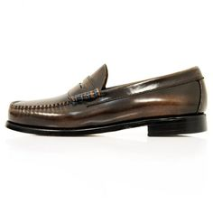 74124f7fa75 Bass Weejuns Bass x William Fox   Sons Larson 2 Brown Shoe 714998. Skinhead  FashionPenny LoafersLoafers MenMoccasins ...