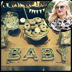 Baby shower di Gwen Stefani su instangram