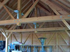 Fair Grounds, Cabin, House Styles, Wood, Garage, Home Decor, Vintage, Carpentry, Woodworking