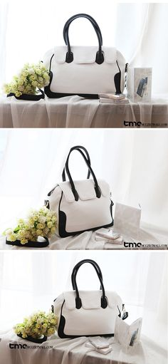 TMC Fashion Women's Protable Handbag Tote Shoulder Cross Messenger Bag White YL194