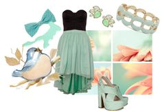 """""""Sweet mint"""" by croxz on Polyvore"""
