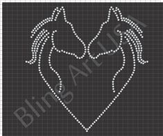 Blessed Rhinestone Design Fortunate Religious Blessing Lucky God Rhinestone Gem Rstones Bling It Design Era Ioline Crystal Press Stonecut Pro and String Art Templates, String Art Patterns, Rhinestone Crafts, Glitter Crafts, Free Stencils, Horse Crafts, Idee Diy, Pin Art, Button Art