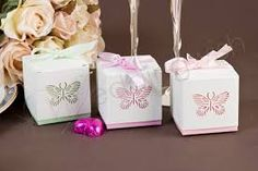 Image result for butterfly bomboniere