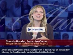Always Best Care is the only senior services franchise system that combines non-medical in-home care, assisted living finder services and skilled home health care to create three potential revenue streams for our franchisees. Call us at 855-430-(2273) #seniorservicesfranchise