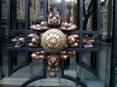 door detail, Madrid, Spain