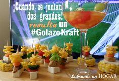 Recetas: Brochetas con Macaroni & Cheese y Tizana con Capri Sun, cuando se juntan dos grandes el resultado es un  #GolazoKraft #MyColectiva #cbias #shop