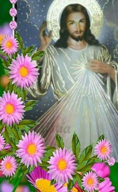 Beautiful Rose Flowers, Pink Flowers, Jesus Pictures, My Lord, Virgin Mary, Jesus Christ, Faith, Artwork, Christian