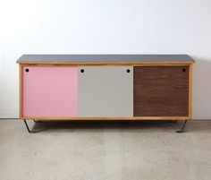 The Sled Family of Storage combines solid wood and metal to create a system of sliding drawers and doors at different scales. The design embodies Michael's practical no-nonsense approach to material…