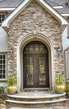 Exterior Stone Work great contemporary exterior of home with stone work | home decor
