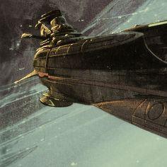 Star Blazers warship