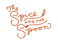 the spice and the spoon. I kind of want to frame this to put in my kitchen.