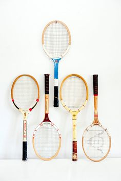 Vintage Tennis Rackets // Five Available - Choose Your Favorite One