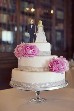New Creative Wedding Cake Ideas. To see more: http://www.modwedding.com/2014/01/01/new-creative-wedding-cake-ideas/ #wedding #weddings #cake #weddingcake